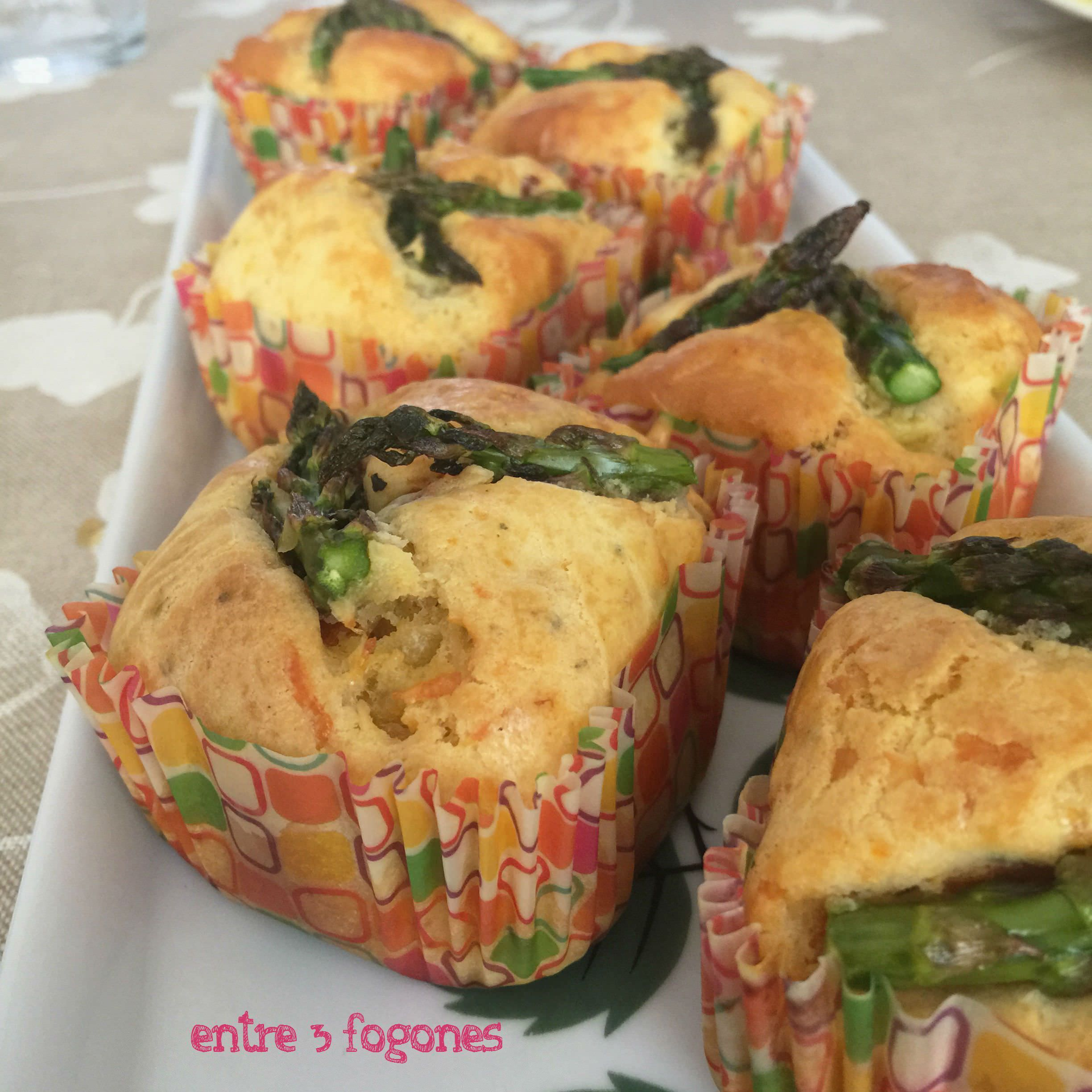 Photo of Muffins de Trigueros y Tomates Secos Marinados