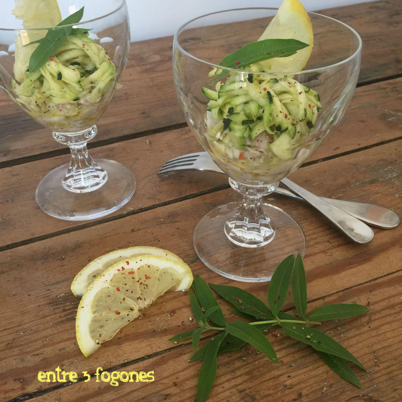 Photo of Tartar de Dorada en Verduras a la Verbena Citronela
