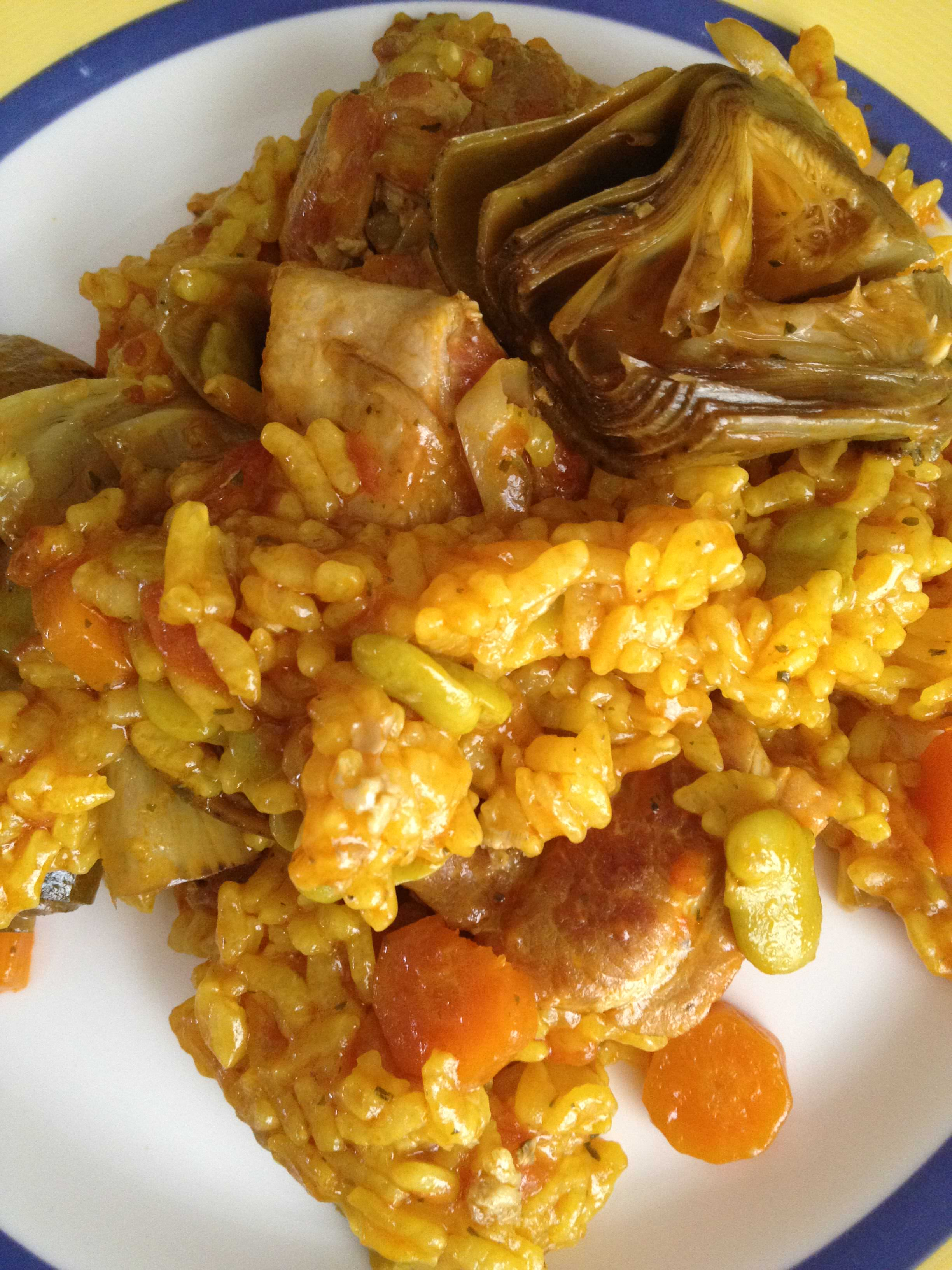 Photo of Arroz con Pollo y Habitas