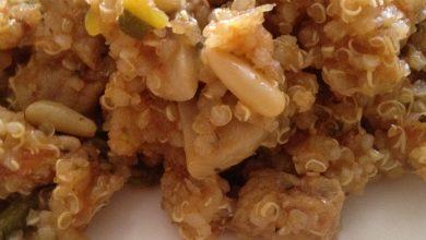 Photo of Quinoa con Verduras y Carne