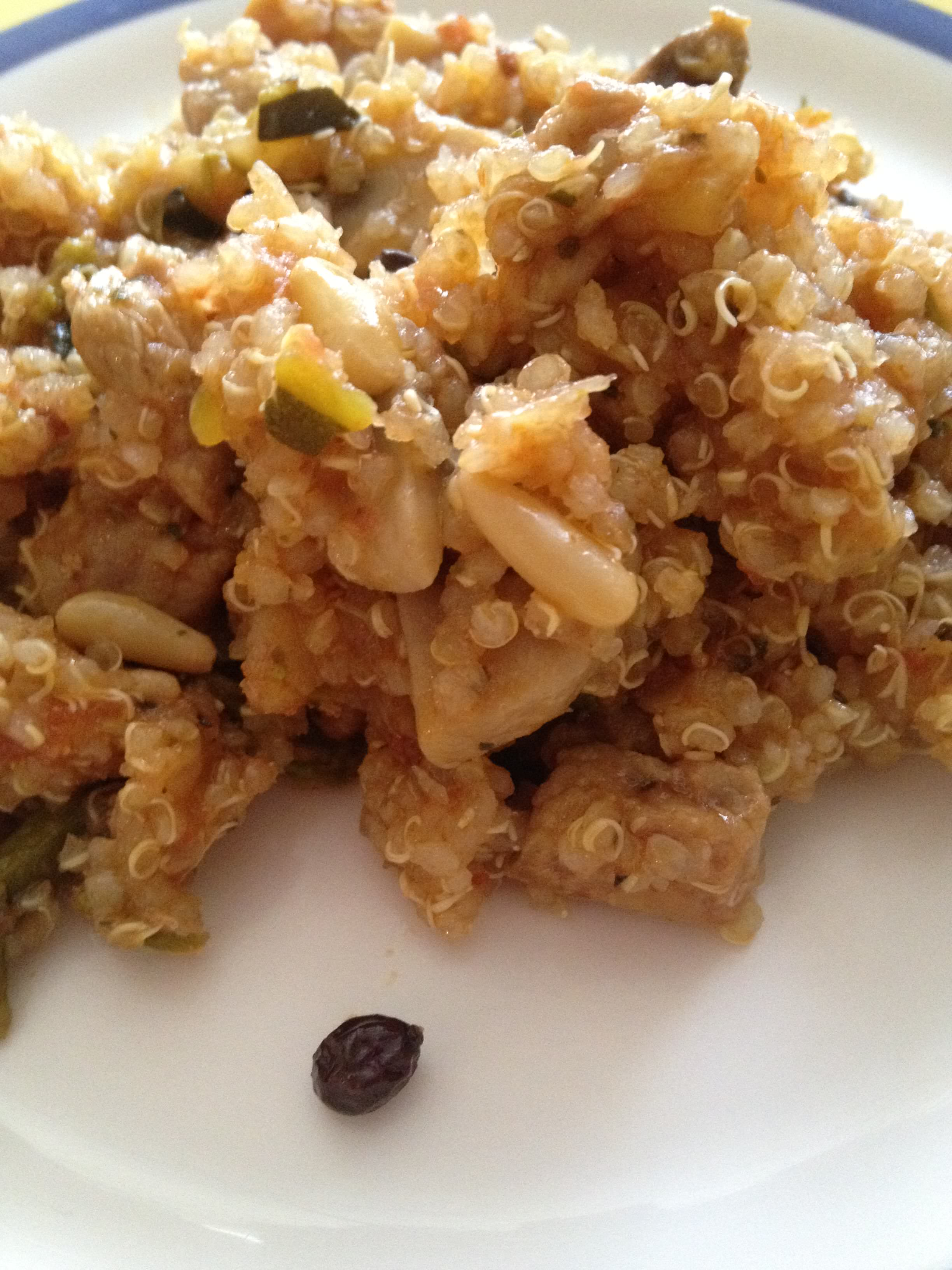 Photo of Quinoa con Verduras y Carne