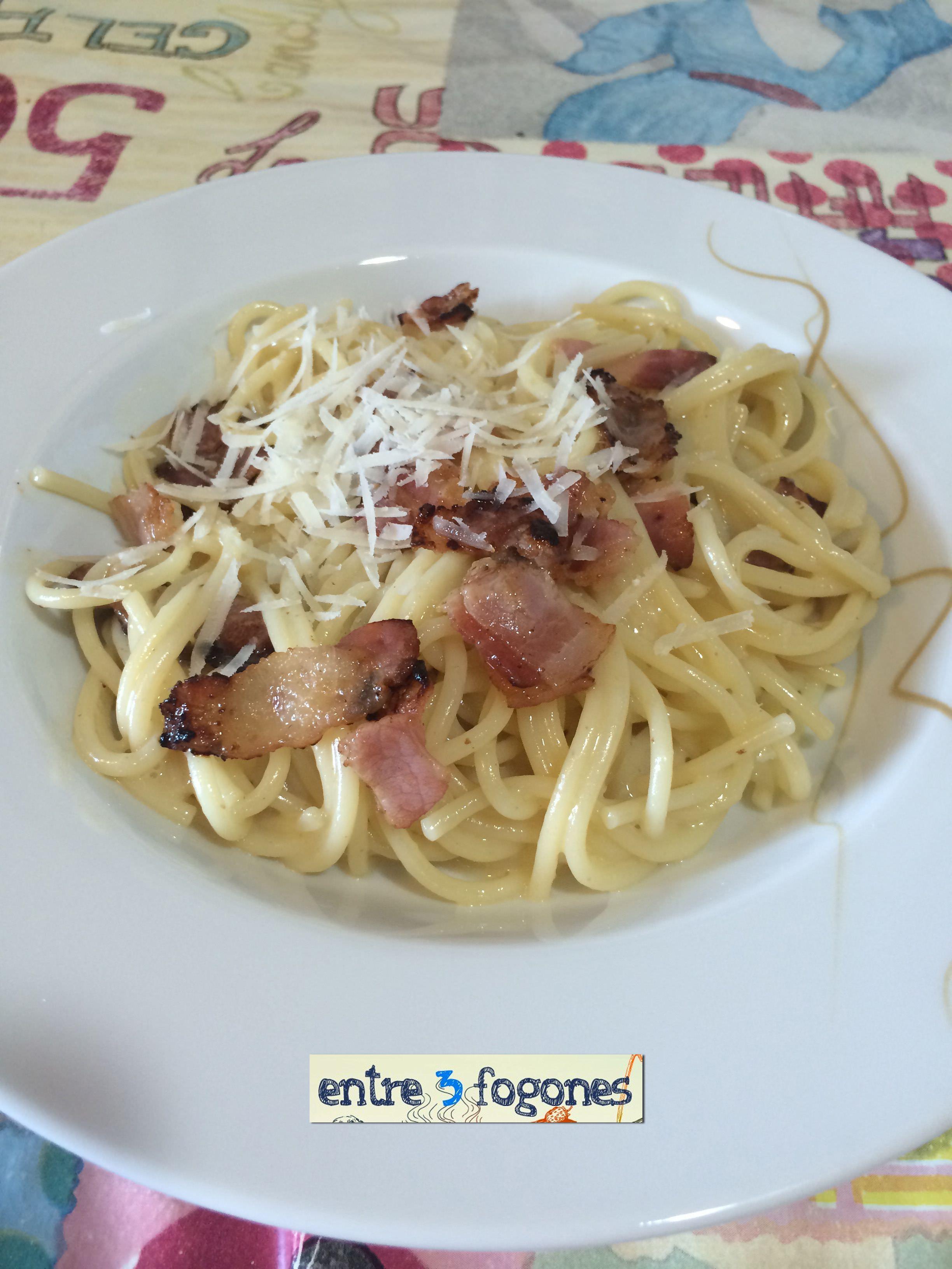 Photo of Espaguetis Carbonara sin Nata