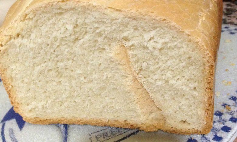 Pan de Molde Cocido en Panificadora