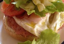 Photo of Hamburguesas de Pollo con Huevo, Bacon y Vegetales»6 XXL»