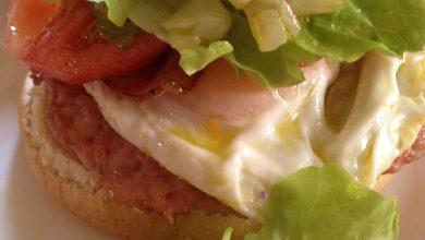 Photo of Hamburguesas de Pollo con Huevo, Bacon y Vegetales»6 XXL»