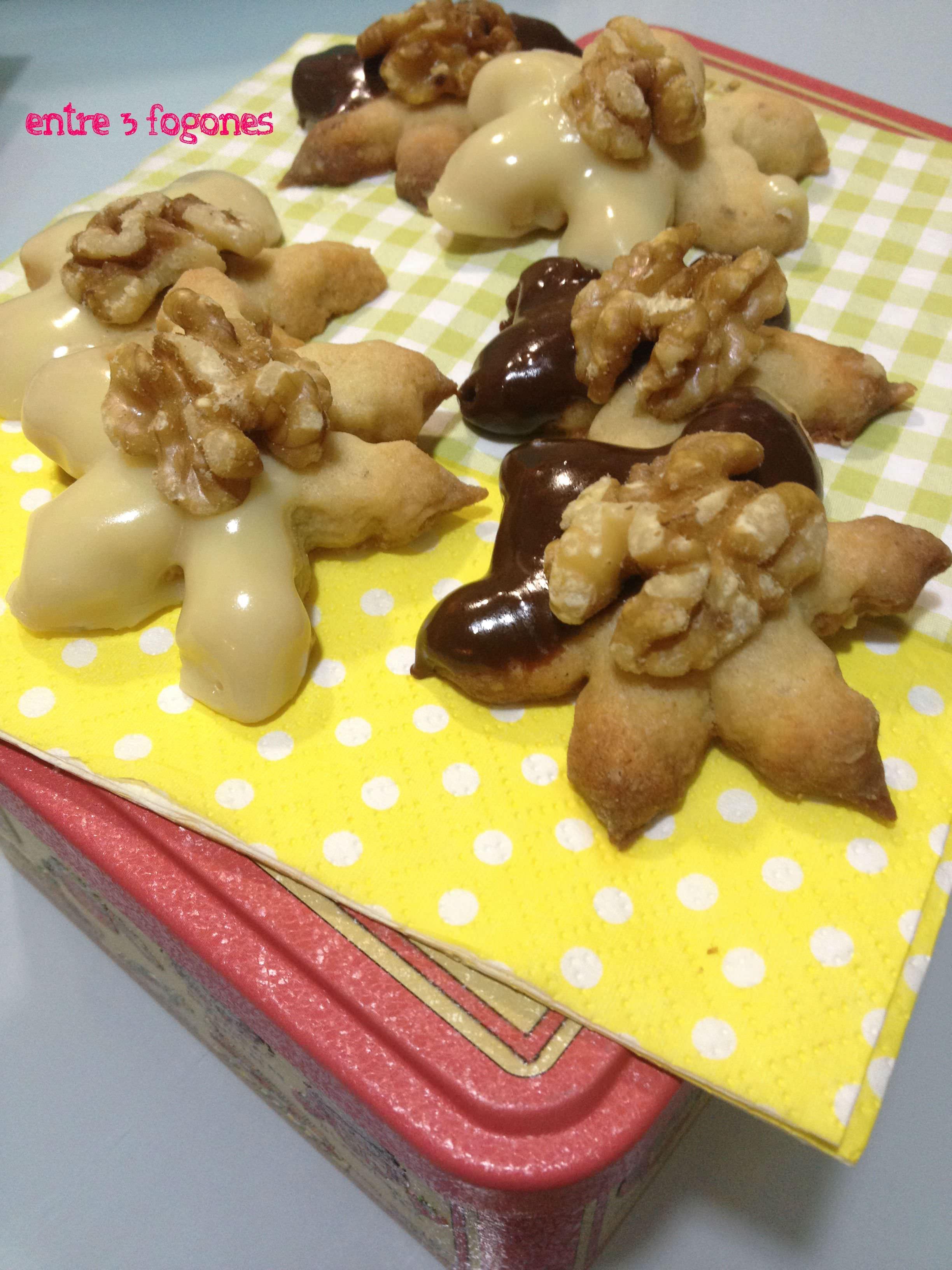 Photo of Étoiles aux Noix et Chocolat