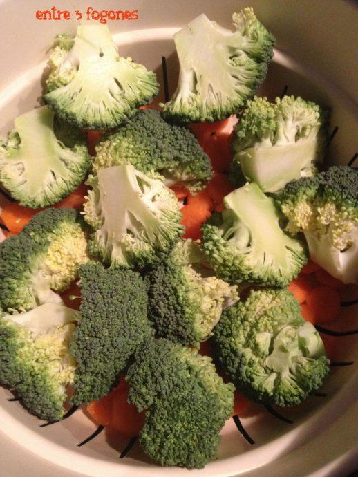 Pastel de Verduras con Pollo