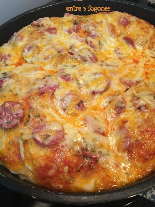 Pizza Americana con Criollo Gallego