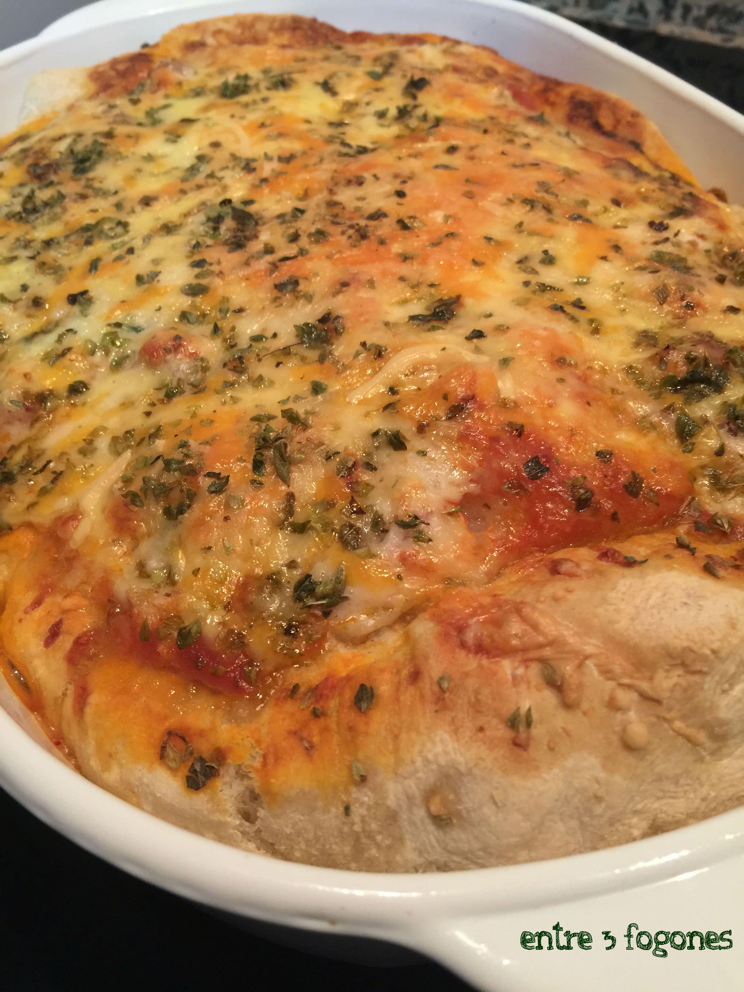 Photo of Pizza Americana con Pollo Ecológico y Bechamel