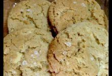 Photo of Cookies Blanditas de Chocolate Blanco y Sal Maldon