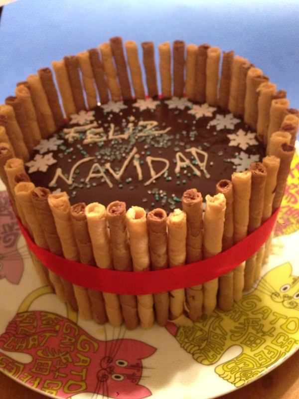 Photo of Tarta de Navidad (Vainilla o Chocolate)