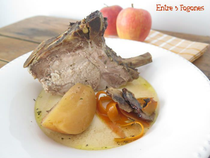Photo of Lomo de Cerdo al Horno con Sidra y Manzanas