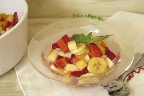 Macedonia de Frutas Naturales sin Azúcar