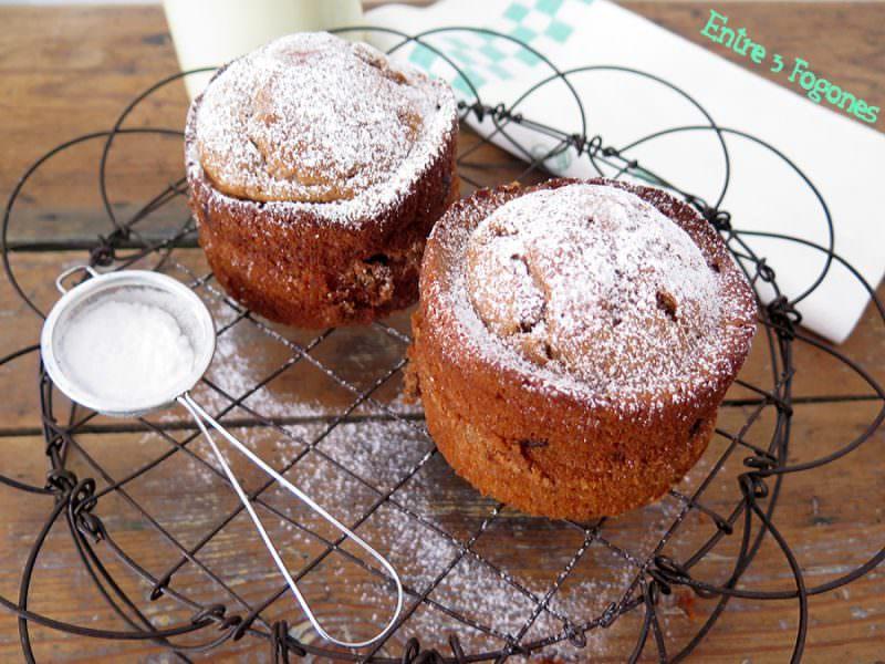 Mug Cake de Chocolate para Dos