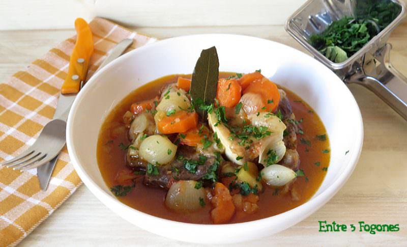 Ossobuco de Ternera con Verduras
