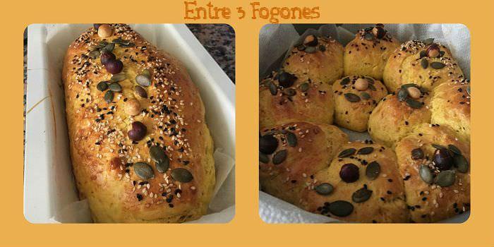 Pasos Pan de Potimarron y Avellanas