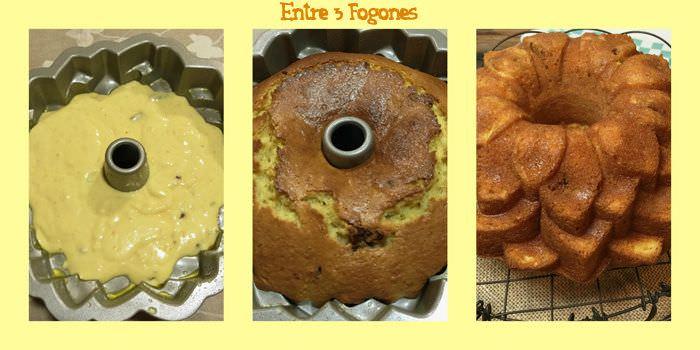 Pasos Bundt Cake de Naranja y Nueces Garrapiñadas