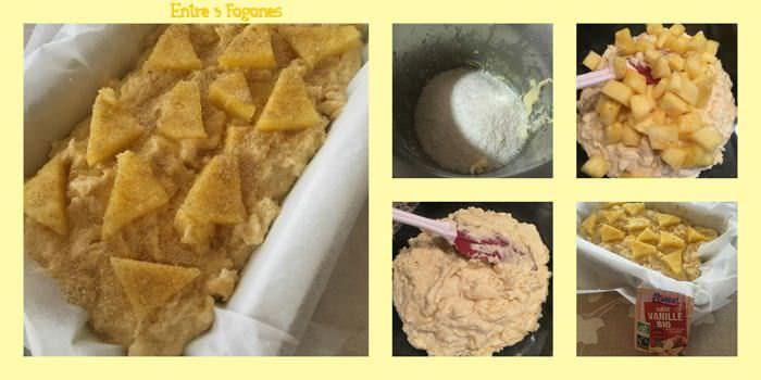 Pasos Cake Piña Natural y Coco Rallado