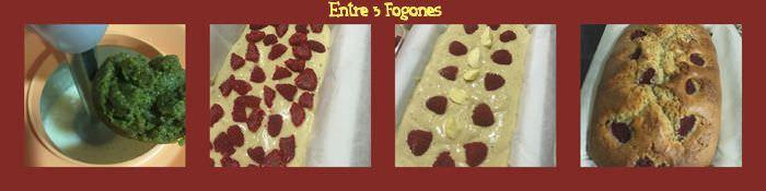 Pasos Cake de Pistachos y Frambuesas