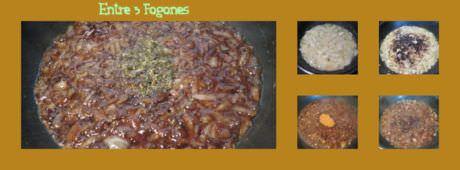 Pasos Hojaldres Rellenos de Carne y Cebolla Caramelizada