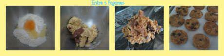 Pasos Cookies Pepitas de Chocolate