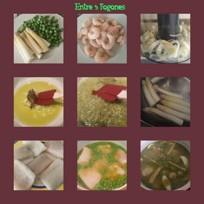 Pasos Merluza en Salsa Verde