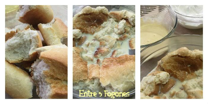 Pasos Pudding de Pan a la Vainilla