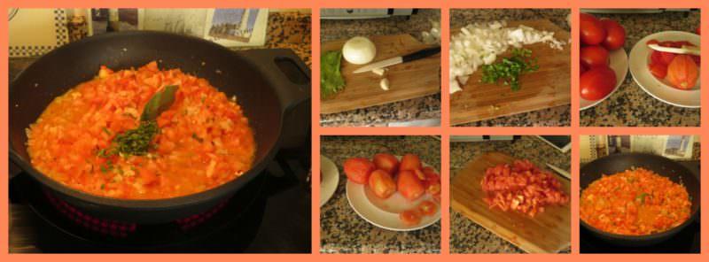 Pasos Salsa de Tomate Casera con Hierbas Aromáticas