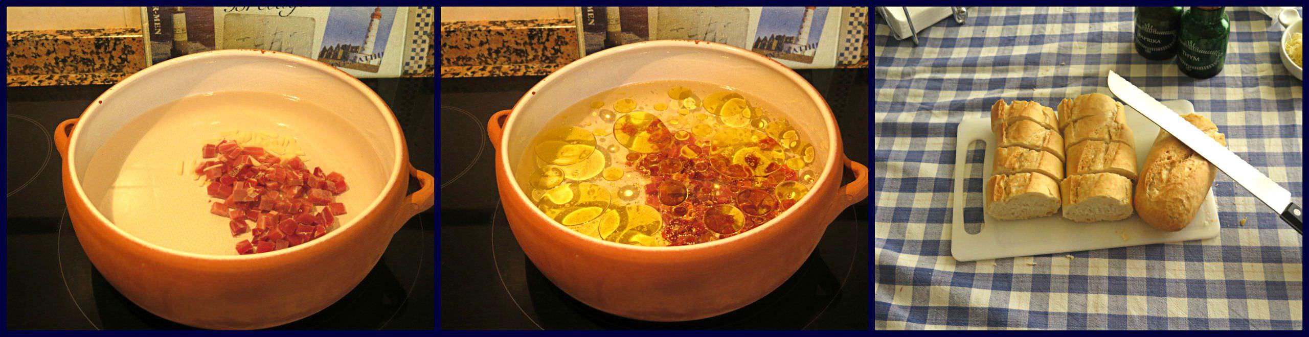 Pasos Sopa de Ajo o Sopa Castellana