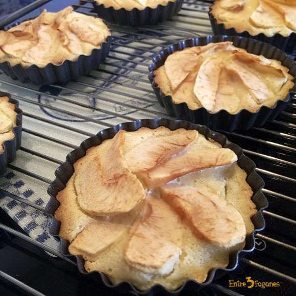 Pasos Tartaletas de Manzana