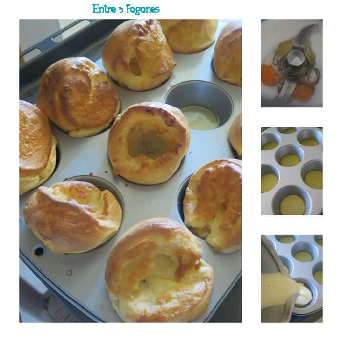Elaborando Yorkshire Puddings