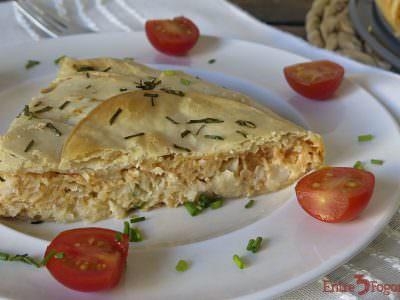 Receta Pastel de Cabracho y Gambas
