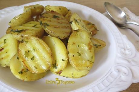 Patatas al Vapor con Hierbas Aromáticas