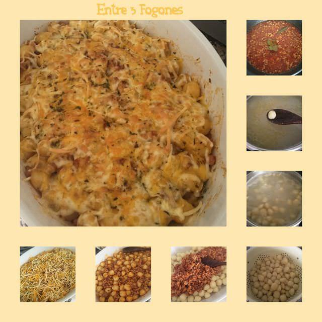 Ñoquis de patata con salsa boloñesa