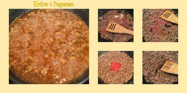 Preparación Carne de Perritos Calientes