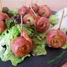Rollitos de Dátil con Bacon