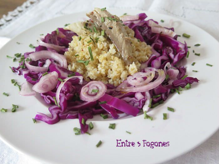 Photo of Ensalada de Bulgur con Caballa en Aceite de Oliva