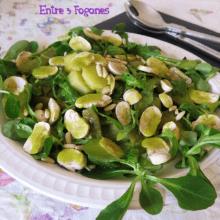Ensalada de Verdura y Patatas con Aliño de Albahaca