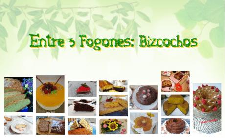 Recopilación Recetas de Bizcochos Caseros