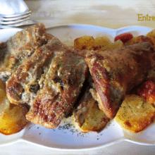 Paletilla de Cordero al Horno con Patatas