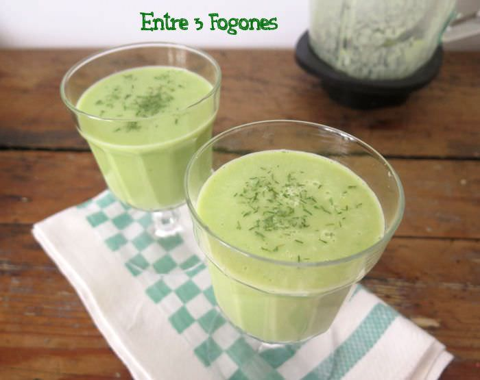 Photo of Smoothie de Aguacate y Pepino