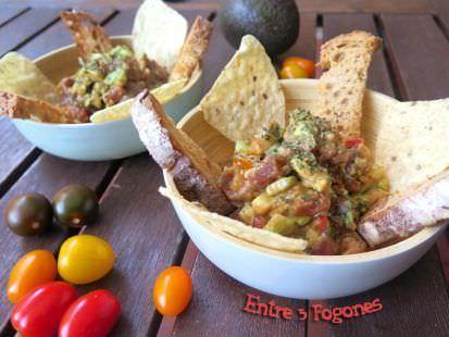 Tartar de Atún con Guacamole