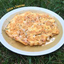 Tortilla de Gambas y Calamar