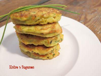 Tortillitas de Calabacín y Zanahoria