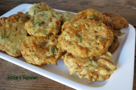 Receta Tortitas de Camarón