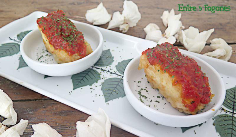 Receta Lomos de Bacalao con Salsa de Tomate Casera