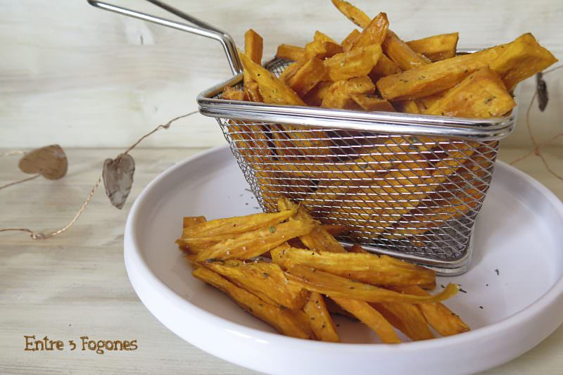 Receta Batatas Fritas al Orégano