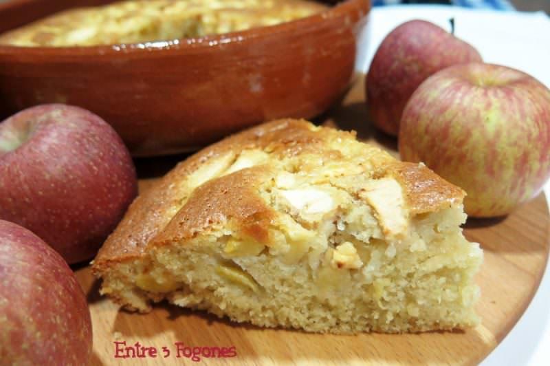 Receta Bizcocho con Manzanas