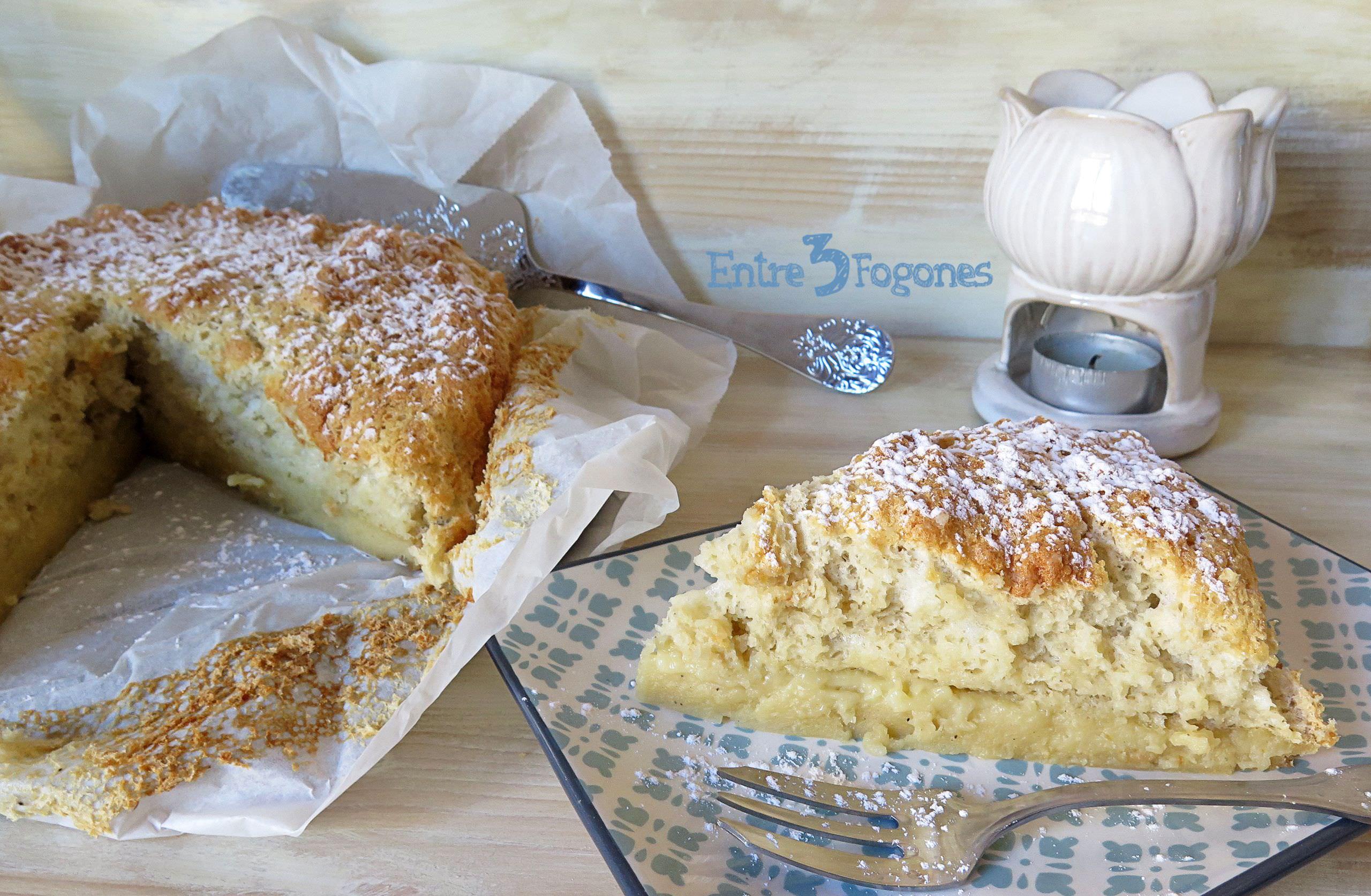 Receta Bizcocho Esponjoso Mágico o Gâteau Éponge Magique