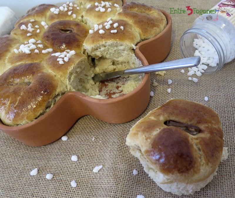 Receta Brioche de Mascarpone con Onza de Chocolate